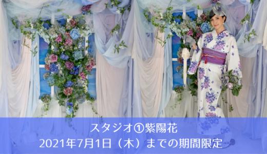 スタジオ①紫陽花 2021年7月1日(木)までの期間限定